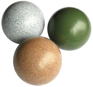 Colors: olive, granite, sand stone